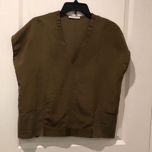Dark green top, never used.